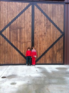 Inman winery, barn doors