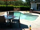 pool, healdsburg, hot tub, deck, relax